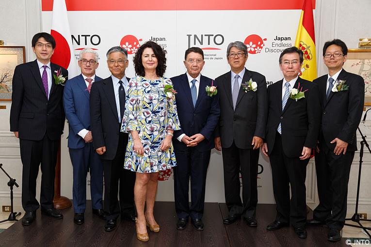 La oficina nacional de turismo de jap n abre una for Oficina de extranjeros madrid